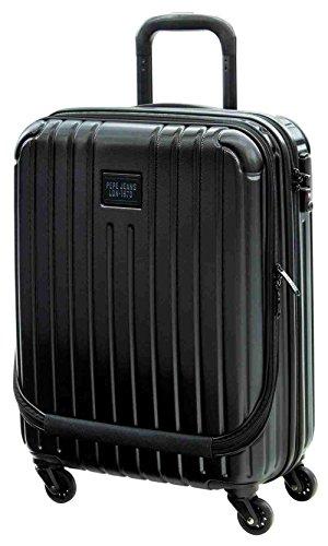 pepe-jeans-black-label-maleta-de-cabina-bolsillo-frontal-38-litros-color-negro