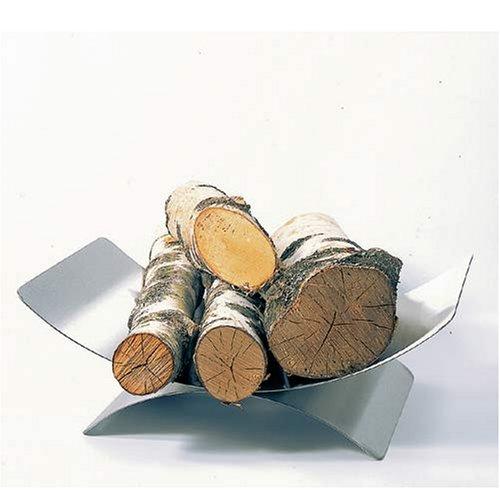 *Lienbacher Holzkorb Edelstahl matt gebürstet H16xB45xT30 cm*