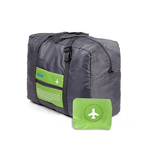 Bolsa de viaje para hombres y mujeres Bolsa de equipaje plegable Duffle Bag ligero impermeable organizador de hombro de almacenamiento de transporte de bolsas para ir de compras Gimnasio Deportes