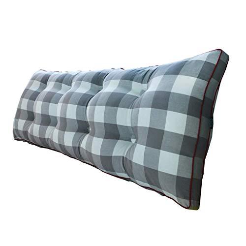 dxx Entlasten Müdigkeit Taille Kissen, Beddingcushions Kissen Cotton Kopf Sofa Bed Head Einzel Doppel-Kissen weich Nachtrücken,# 2,120 * 20 * 50cm