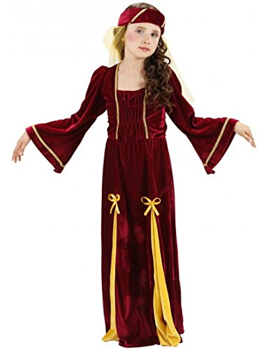 Medieval-Princess-enfants-Costume-de-dguisement