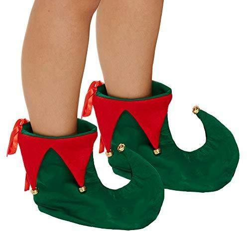 Unbekannt Erwachsene Deluxe Christmas Elf Schuhe