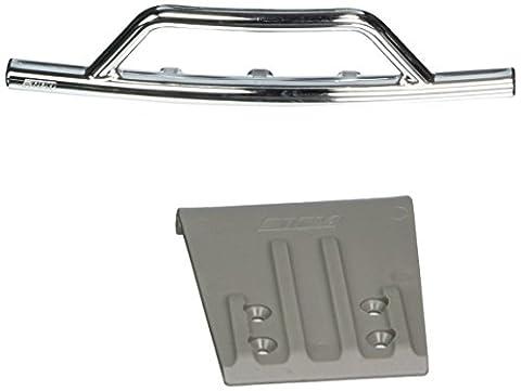 RPM Front Bumper & Skid Plate for the Traxxas Slash - Chrome