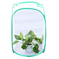 BIBIone 1 pack Plant Greenhouse Transparent Waterproof Cultivation Room Anti - mosquito Box Butterfly Pet Cage grow tent,Mini Greenhouse Grow House