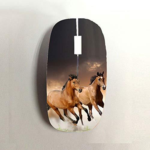 Horse Ziemlich Harte Kunststoffe Benutzen Als Computer Bluetooth Mouse Man ()