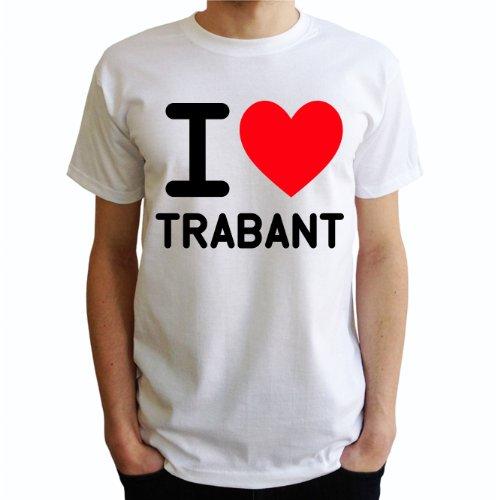 I love trabant Herren T-Shirt Weiß