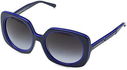 Michael Kors Damen ULA 325911 55 Sonnenbrille, Navy/Bluette/Greygradient,