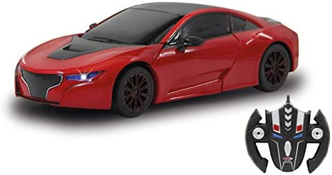 Jamara - 410030 - Robicar  Transformable Transformable Transformable 2,4 GHz - 1/14 - Rouge fcf319
