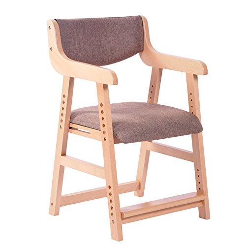 YIXINY Chaise MK-X5 Minimaliste Moderne Couleur Unie Linge En Coton Peut Être Assemblé Litre Drop Les Étudiants Enfants Chaise En Bois ( Couleur : 002 )