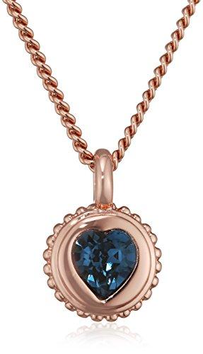 guess-damen-kette-mit-anhanger-messing-glas-blau-455-cm-ubn21532