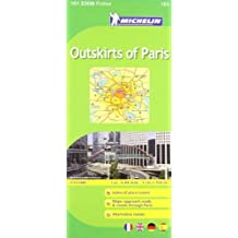 Michelin Map ZOOM Paris Outskirts of Paris 101 (Maps/Zoom (Michelin)) by Michelin (2011-03-16)