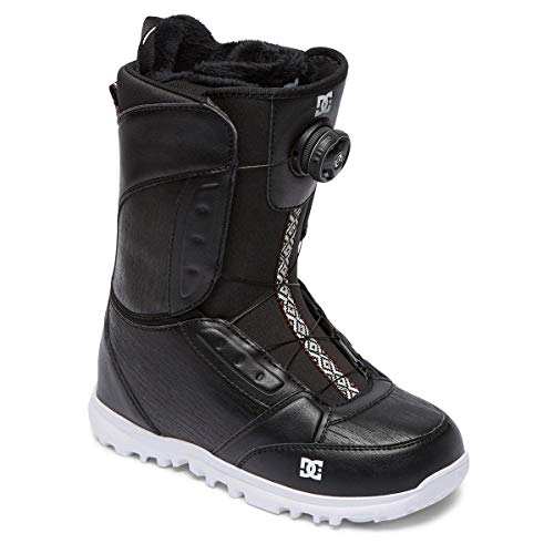 DC Shoes Damen Schuhe Lotus Boa Snowboardstiefel Adjo100016, Damen, schwarz, US 8.5 / UK 6.5 / EU 40 -