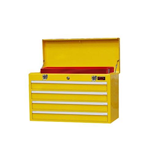 Groß 4Schublade Tool Box leicht mit Key Lock und uns Kugellager Folien Kommode tragbar mit gratis Schubladen-Teiler (Kommode Lock)
