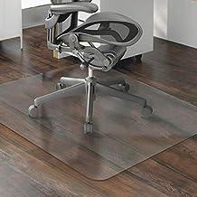 MultiWare Tapis Protege Sol Chaise De Bureau Pour Parquets Transparent Rectangle