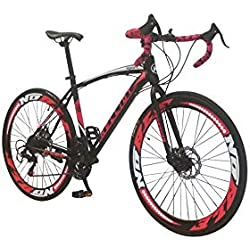 Helliot Bikes Helliot Sport 01, Adultos Unisex, Negro, M-L