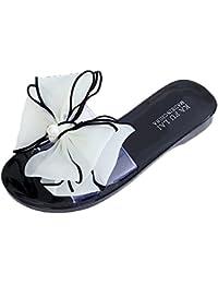 VENMO Chanclas de los deslizadores de los flips-flopes de las sandalias del verano de la flor de la manera de las mujeres