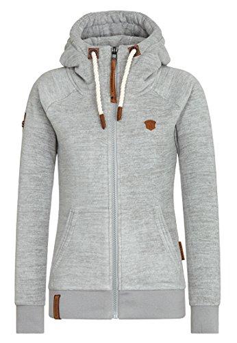 Naketano Female Zipped Jacket Gigi Meroni Grey Melange, M