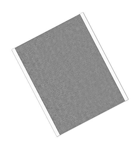 tapecase 118315,2x 26,7cm-25silber, Zinn/kupfer/Acryl-Klebstoff, verzinnt Folie mit ableitfähigem adhesive-converted von 3M 1183, 15,2x 26,7cm Rechtecke, Länge: 26,7cm Breite: 15,2cm (25Stück)