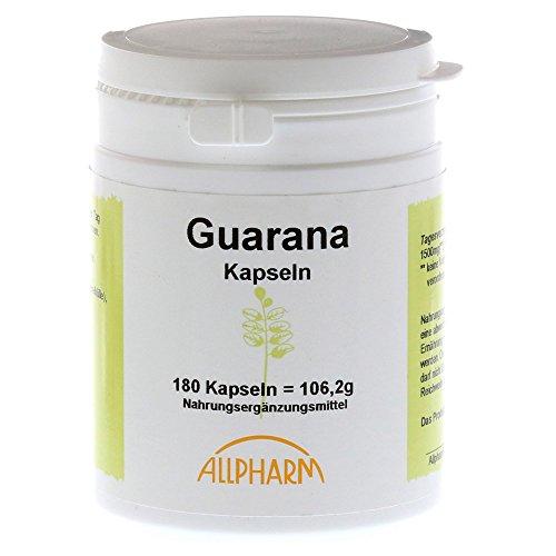Allpharm Guarana, 180 St. Kapseln