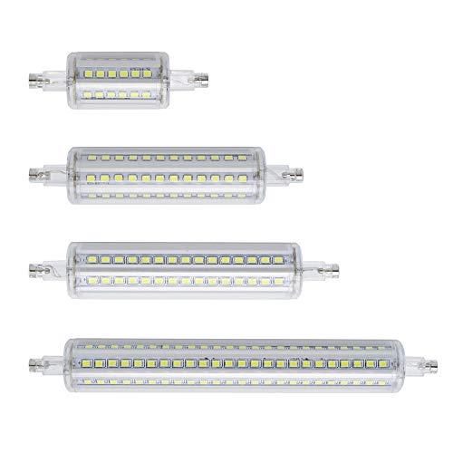 GGSSYY-JNDP 2pcs Energiesparendes Dimmable R7S führte Mais-Licht 78Mm 118Mm 135Mm 189Mm SMD 2835 Birne 7W 14W 20W 25W ersetzen Halogenlampe Ac 85-265V