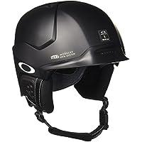 Oakley MOD5 Snowboard/Ski Negro casco de protección - Cascos de protección (Snowboard, Esquiar, Negro, S/M/L, Brillo, Hombre/Mujer, ASTM F2040, CE EN1077)