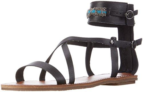 Roxy Cordilia Sandals, Sandali alla Schiava Donna Nero (Schwarz(Black BLK))