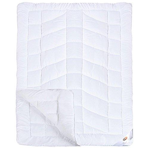 First Class 4-Jahreszeiten Bettdecke | weitere Decken und Größen wählbar | Mikrofaser Steppdecke 135 x 200 cm CelinaTex 0001642