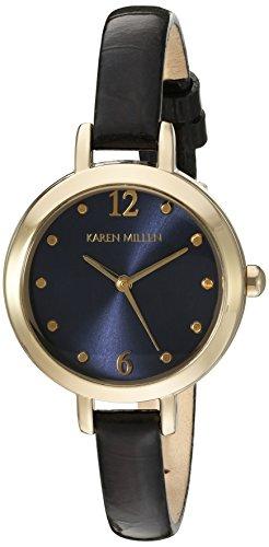Karen Millen KM152UGA - Reloj de pulsera Mujer, color Negro