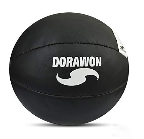 Dorawon, Balón Medicinal Black 15 kg, Negro