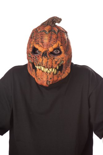 Unbekannt Générique Mahal802-Maske Erwachsene, Kürbis, erschreckend-Einheitsgröße