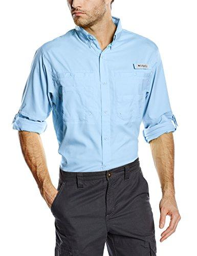 Tamiami Angeln Shirt (Columbia Herren Sportswear PFG TAMIAMI II Long Sleeve Shirt Small Sail)