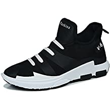 Yajie-shoes Las Zapatillas de Deporte atléticas para Hombre no Son Casuales con un Pedal
