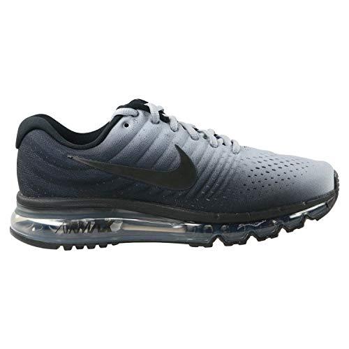 Nike Air Max 2017 BG, Chaussures de Running Compétition garçon, Multicolore Black/Wolf Grey 001, 37.5 EU