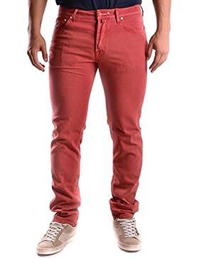Jacob Cohen Hombre MCBI160056O Rojo Algodon Jeans