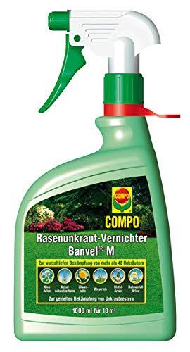 Compo Rasenunkraut Vernichter Banvel M, 1000 ml Spray