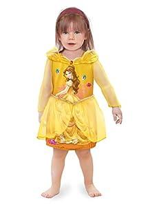 Ciao 11243.12-18 - Vestido de princesas Disney para bebé Belle 12-18 mesi amarillo