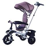 GIFT Kinderfahrrad Dreirad 1-3 Jährige Jungen Und Mädchen Abnehmbares Dreirad Für Kinder Faltbarer Kinderwagen,B