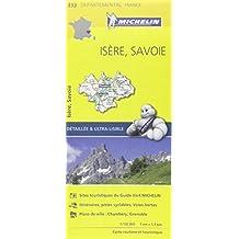 Carte Isère, Savoie Michelin
