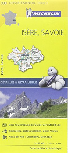 Descargar Libro Carte Isère, Savoie Michelin de Collectif Michelin