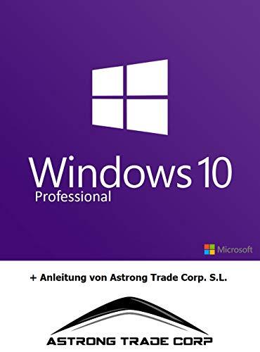MS Windows 10 Professional 32/64 Bit Original Lizenzschlüssel Vollversion + Anleitung von Astrong Trade Corp S.L.®