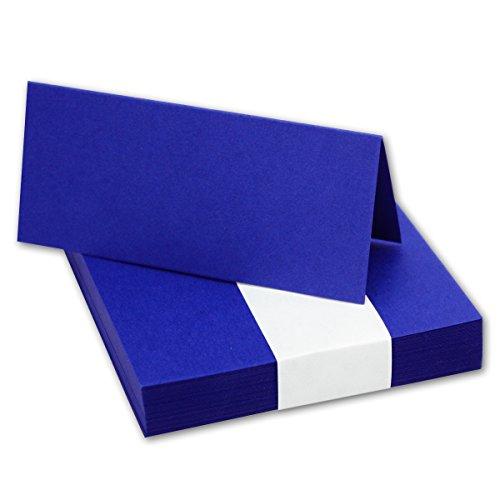 oyal-Blau // Größe: 100 x 90 mm (gefaltet 100 x 45 mm) // 240 g/m² - Sehr schwere und stabile Qualität // Aus der Serie FarbenFroh von NEUSER! (Royal Blau Tischdekoration)