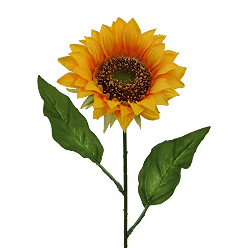 Sonnenblume (Kunstblume, SONNENBLUME 1 Stück ca 66 cm.)