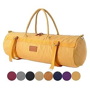 #DoYourYoga XL Yogatasche »Malati 100% Cotton-Edel-Canvas (Segeltuch), Yoga-, Pilates-, Fitness- und Gymnastikmatten bis zu Einer Größe von 186 x 62 x 1,5 cm, in 9 Farben