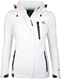Geographical Norway - Abrigo impermeable - para mujer