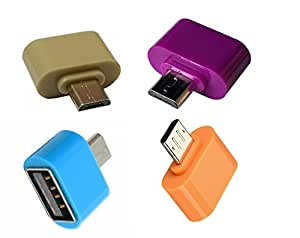Aryamobi Micro USB Mini OTG Adapter For OTG Enabled Android Devices