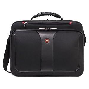Wenger/SwissGear Notebook Case Impulse maletines para portátil 39,1 cm (15.4″) Bandolera Negro – Funda (Bandolera, 39,1 cm (15.4″), Negro)