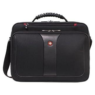 Wenger/SwissGear Notebook Case Impulse 15.4″ Bandolera Negro – Funda (Bandolera, 39,1 cm (15.4″), Negro)