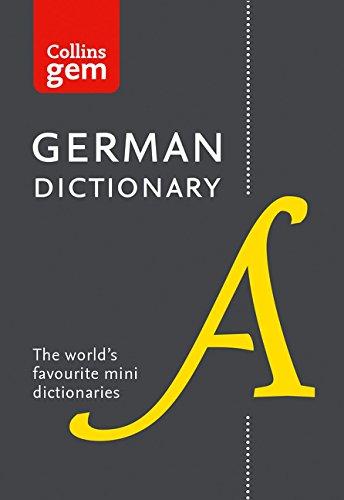 Collins German Dictionary (Collins Gem) [Idioma Inglés]