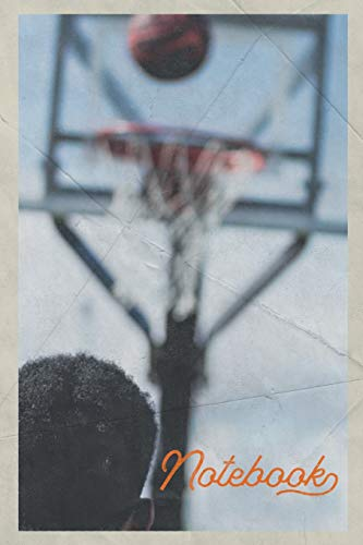 Notebook: Basketball Hoop Height Excellent Composition Book Journal Diary for Men, Women, Teen & Kids Vintage Retro Design for alley-oop dunk professionals