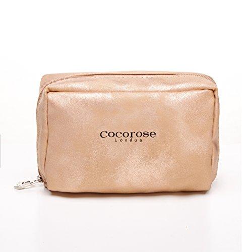 Cocorose Scarpe Pieghevoli - barbican Ballerine Donna Brillare Oro Rosa
